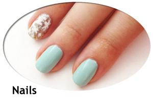 nails thumb